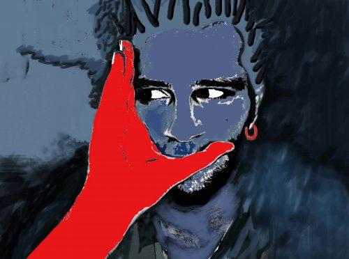 ömer saylık davutoglu dijital portre tasarım